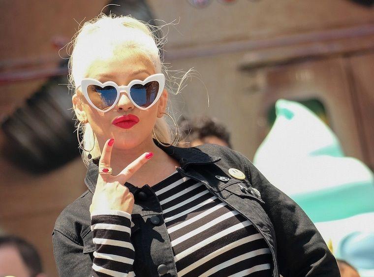 Christina Aguilera : Elle pose entièrement nue et c'est très chaud !