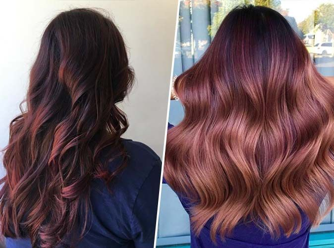 Spotted Le Desert Rose Hair La Coloration Pour Cheveux Qui Va