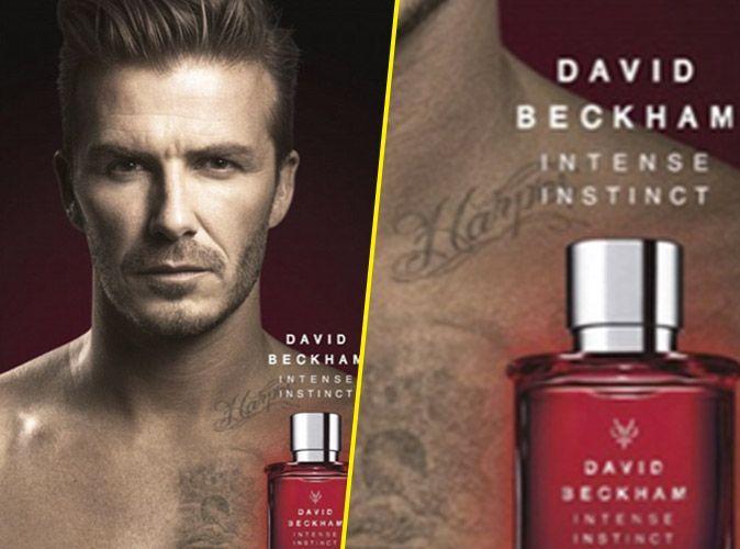 David Beckham Sexy Pour Son Parfum Il Met En Avant Ses Tatouages