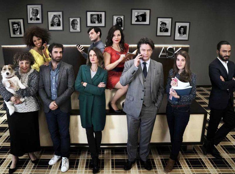 dix pour cent d couvrez les stars qui seront au casting de la saison 3. Black Bedroom Furniture Sets. Home Design Ideas