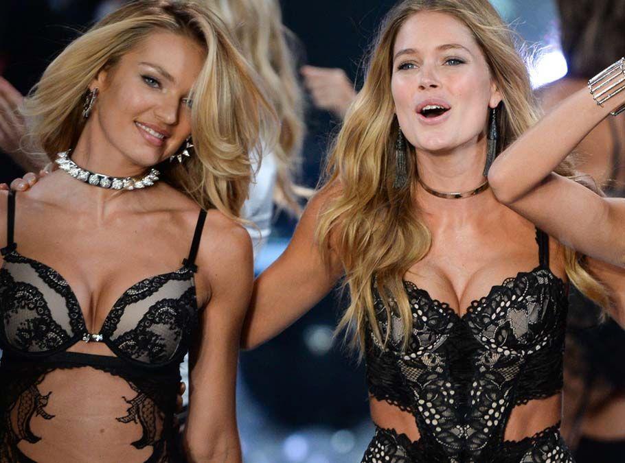 Doutzen Kroes et Candice Swanepoel fesses à l'air au Brésil : c'est cadeau !