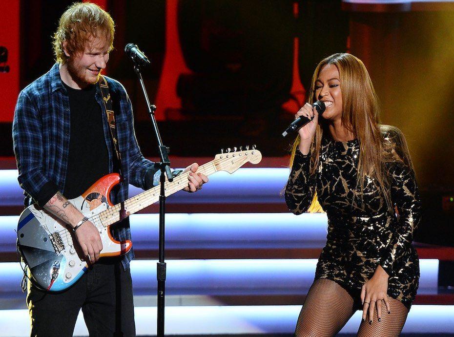 Ed Sheeran annonce un duo avec Beyoncé !