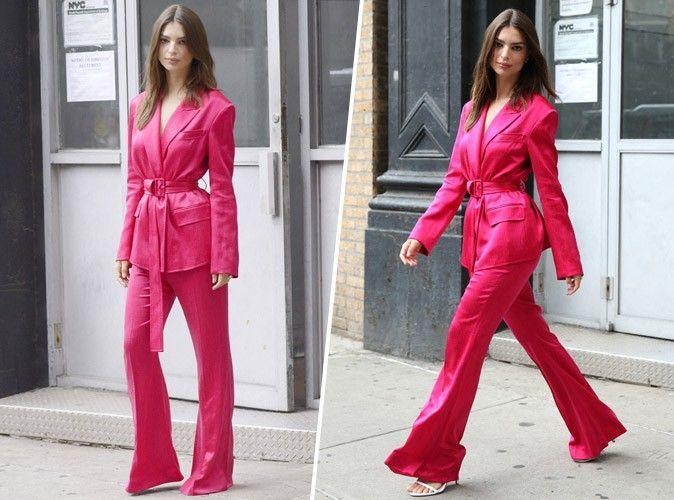 6e35a146c Alerte : Le tailleur Zara à 130€ que portait Emily Ratajkowski le ...