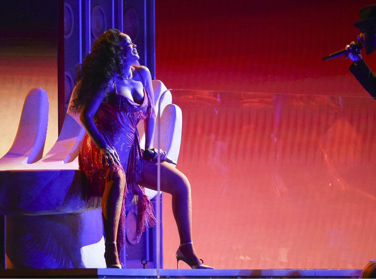 Grammy Awards 2018 : ce moment où Rihanna a fait grimper la température !