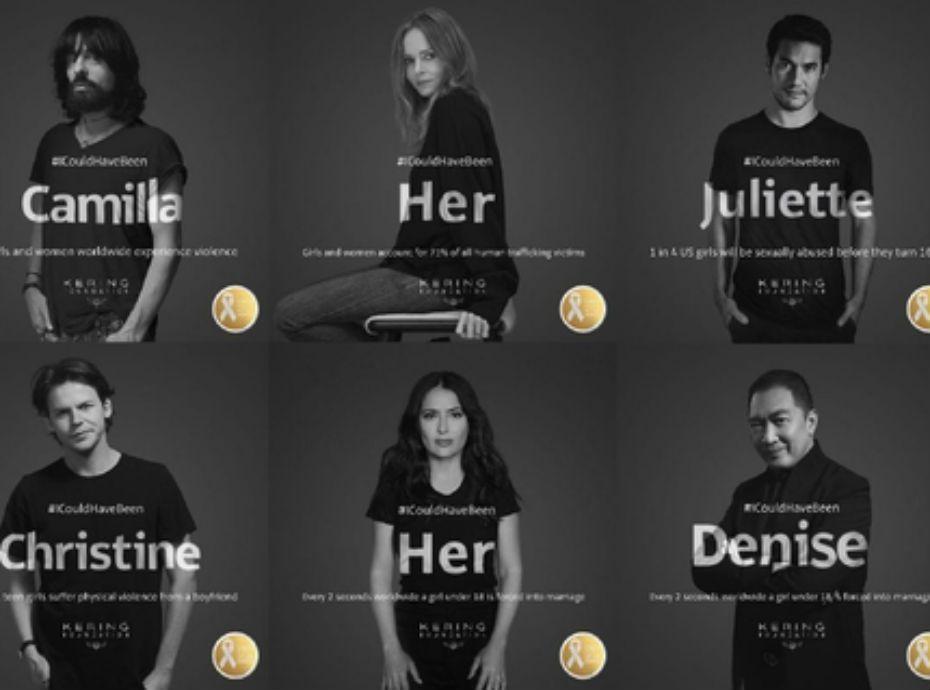 #ICouldHaveBeen  : Des stars se prennent en photos pour dénoncer les violences faites aux femmes
