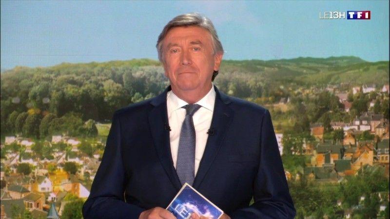Jacques Legros : le joker de Marie-Sophie Lacarrau fond en larmes à la fin du 13 heures de TF1