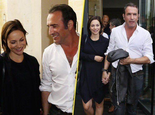 Jean dujardin papa sa compagne nathalie p chalat a for Gaelle et jean dujardin