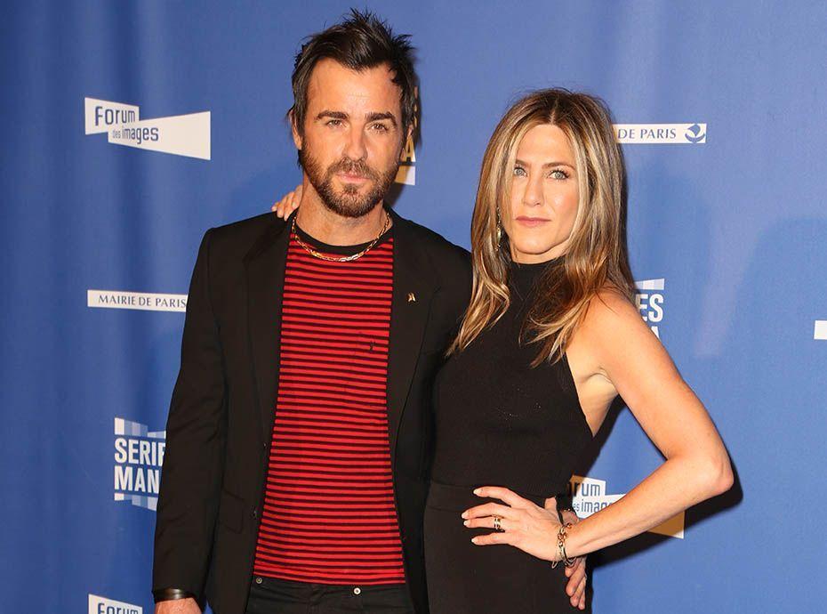 Jennifer Aniston et Justin Theroux : Apparement ils n'ont jamais été mariés !