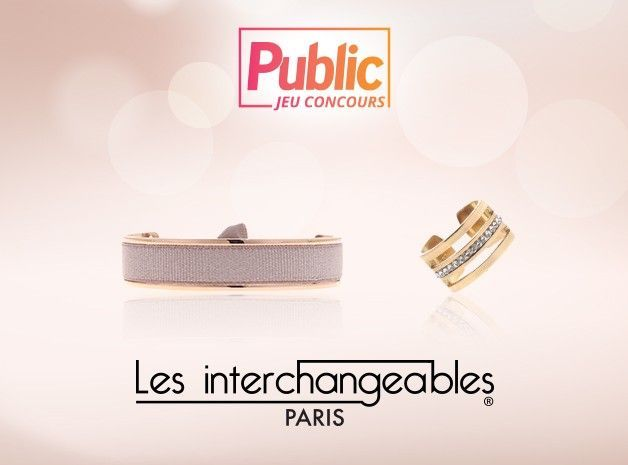 Jeu concours : Remportez des bijoux Les Interchangeables