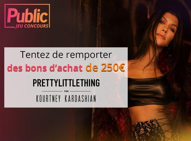 Jeu concours : Tentez de remporter un bon d'achat de 250E chez Pretty Little Thing par Kourtney Kardashian
