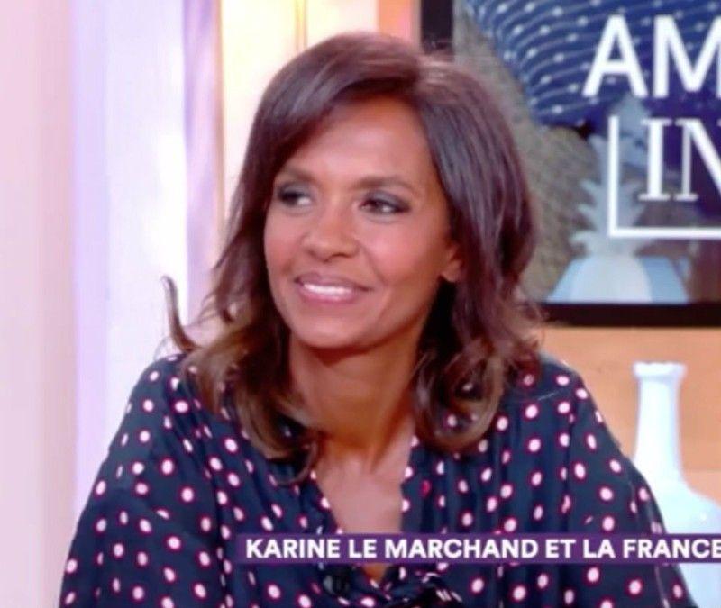 Karine Le Marchand ose le selfie au réveil... et en très charmante compagnie !