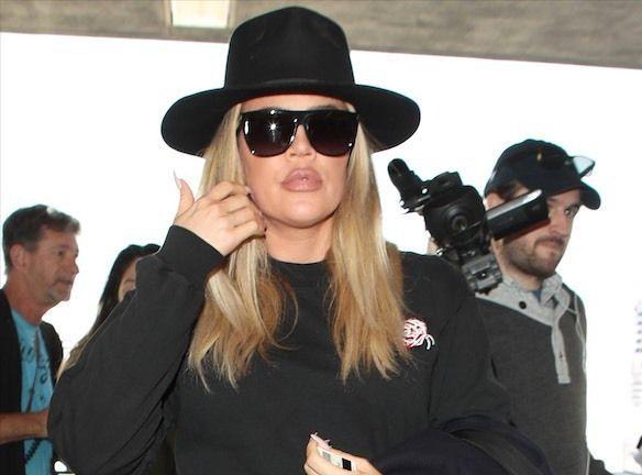 Khloe Kardashian : Enceinte et bientôt à terme, elle pose topless !
