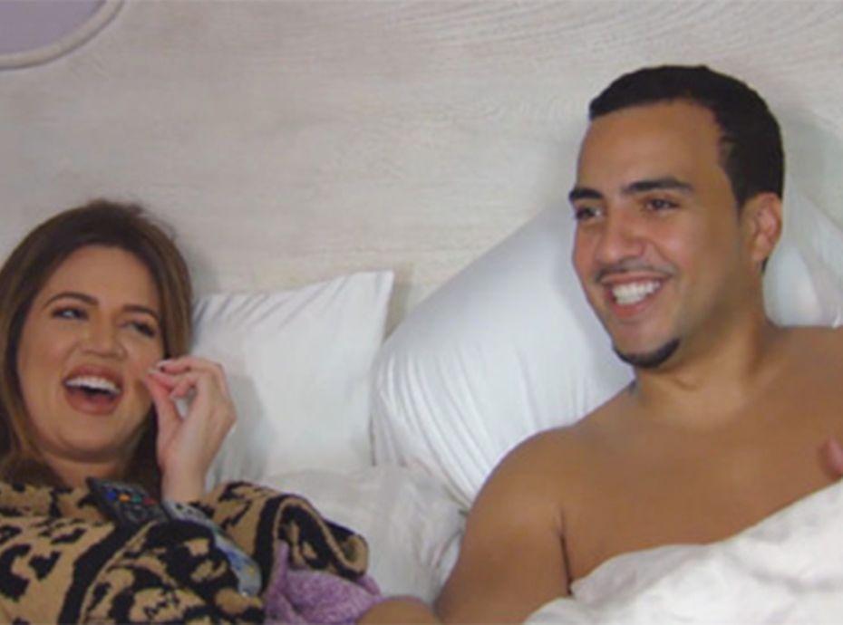 Khloe kardashian french montana nu dans son lit - Jeux d amour tout nu dans le lit ...