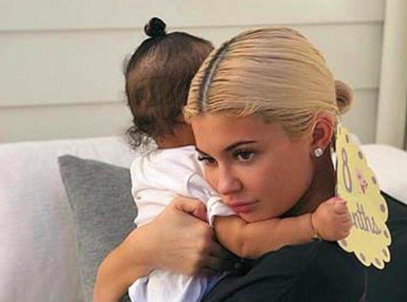 Kylie Jenner a changé le nom de sa fille à la dernière seconde !