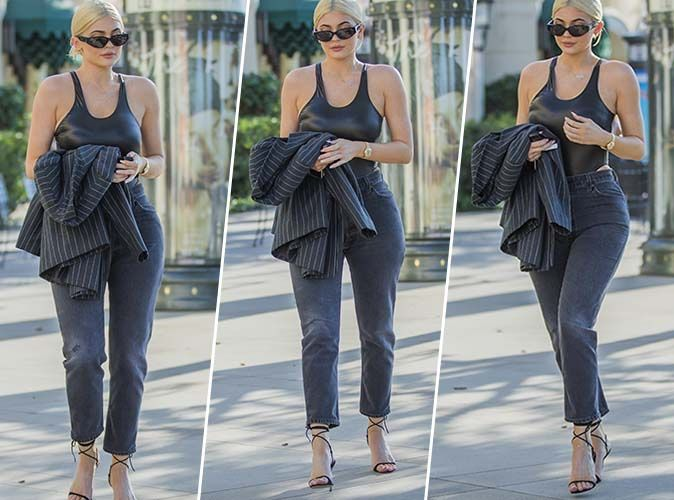 Kylie Jenner : Qui valide son total look black sexy chic ?