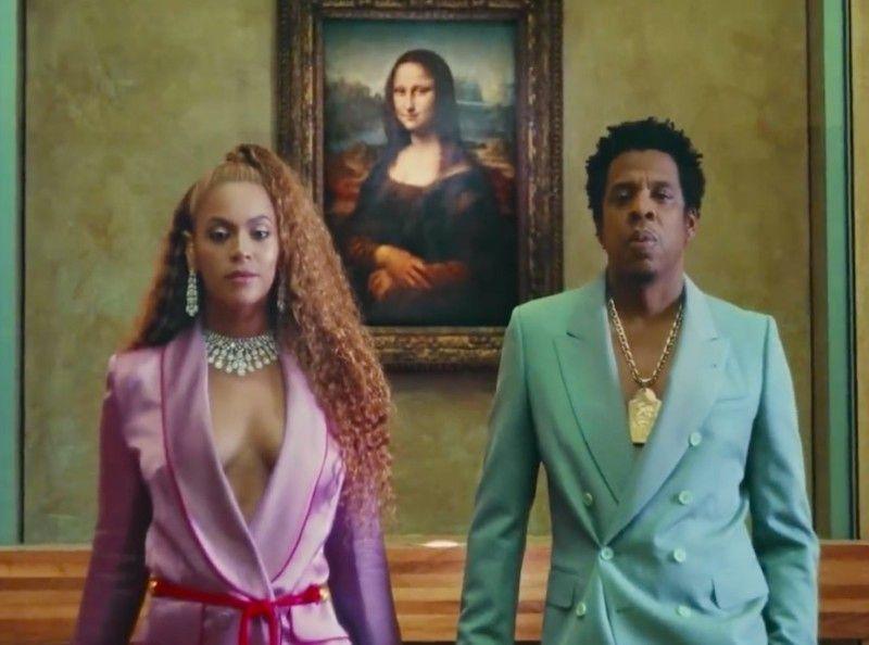 Beyoncé et Jay-Z s'offrent le musée du Louvre et la Joconde pour leur nouveau clip
