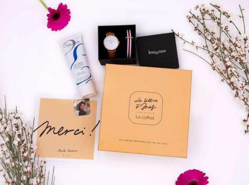 La Lettre d'Ines, le coffret : Quels cadeaux dans votre box du mois de février ?