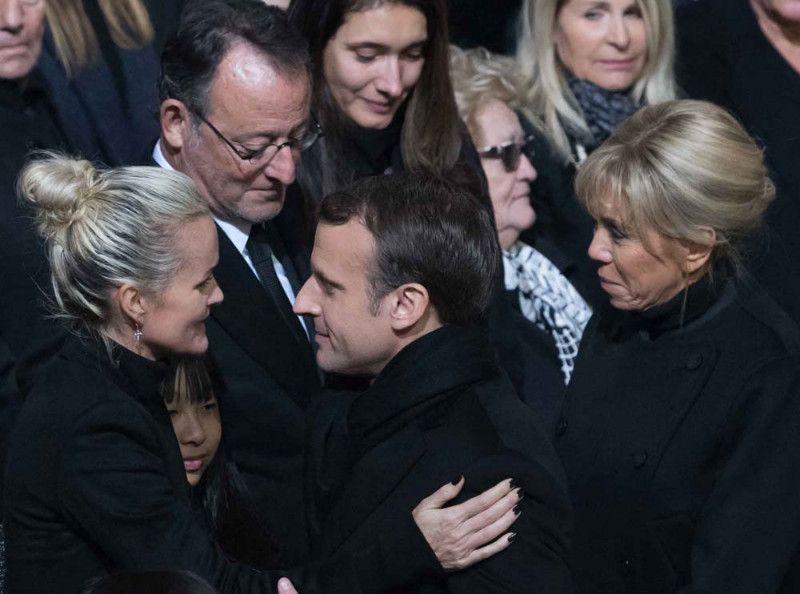 Laeticia Hallyday aux obsèques de Johnny : cette demande abusée que l'Elysée lui a refusé !