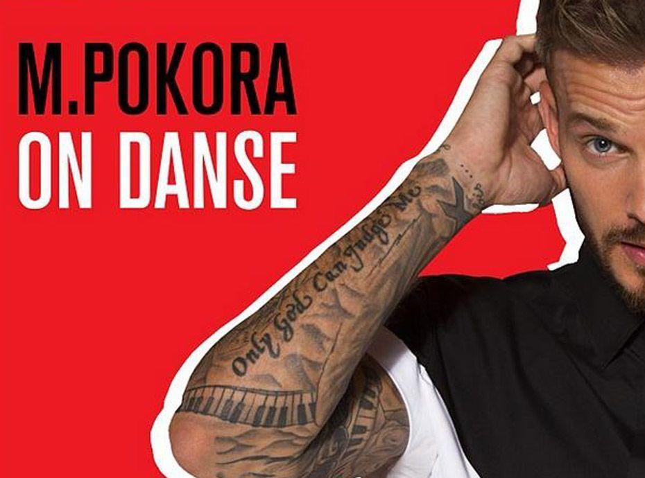 """m. pokora : on en sait un peu plus sur son nouveau single, """"on danse"""" !"""