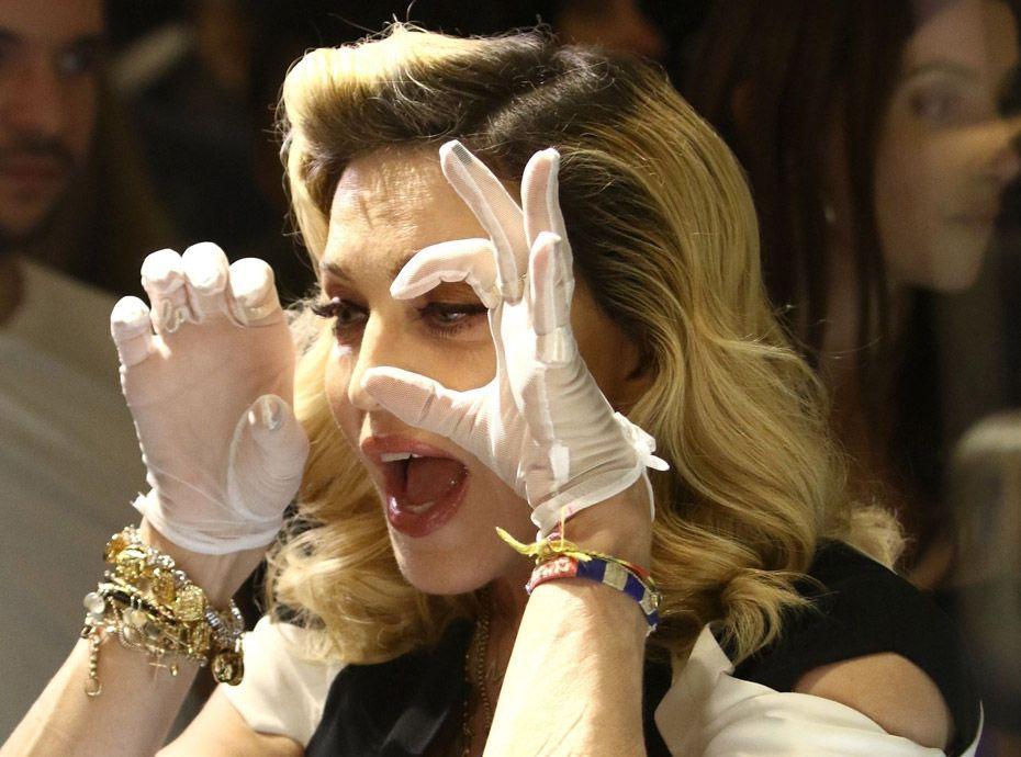 Madonna : Des photos d'elle nue mises aux enchères !