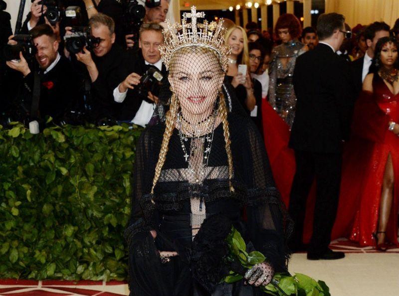Madonna : Un photosphop qui passe très mal !