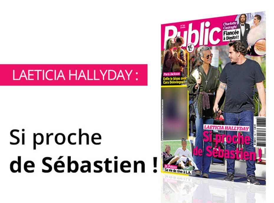 magazine public laeticia hallyday si proche de s bastien. Black Bedroom Furniture Sets. Home Design Ideas