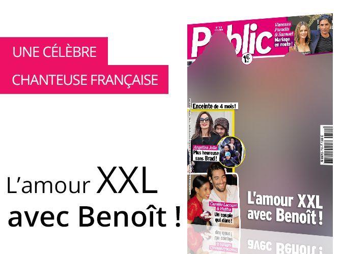 Magazine Public - Photos exclu - Mylène Farmer, l'amour XXL avec Benoît !