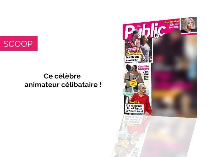 Magazine Public– Scoop : Ce célèbre animateur est maintenant un papa célibataire