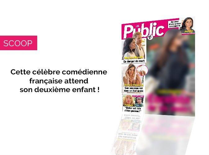 Magazine Public – Scoop : Cette célèbre actrice est enceinte de six mois !