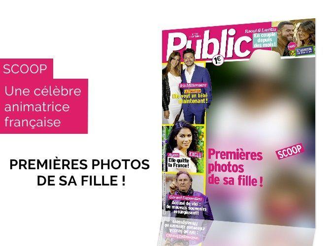 Magazine Public - Scoop - Karine Ferri : premières photos de sa fille Claudia