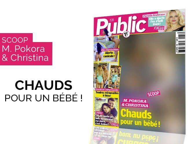 Magazine Public - Scoop - M. Pokora et Christina : Chauds pour un bébé !