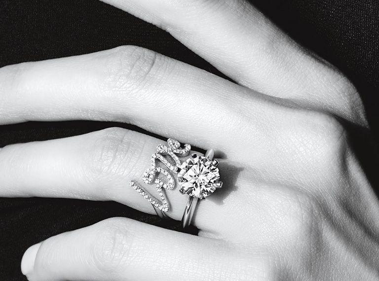 bague diamant quel doigt