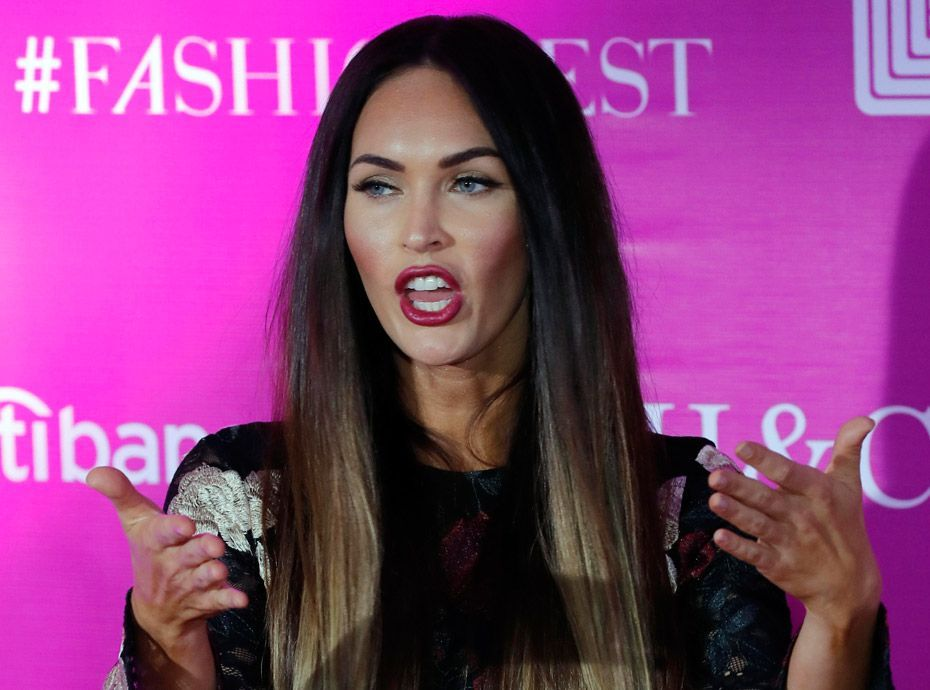 Megan Fox se lâche :