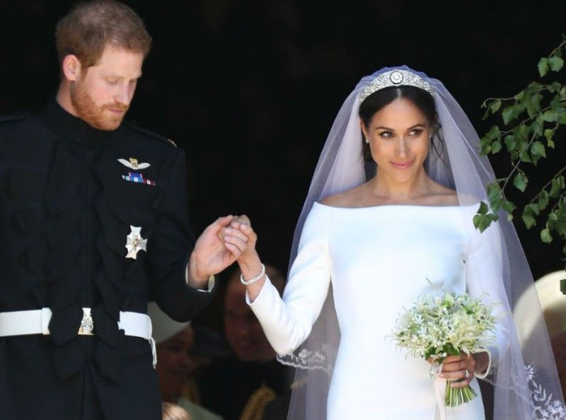 Meghan Markle : découvrez ce qu'est devenue sa robe de mariée... Quelle horreur !