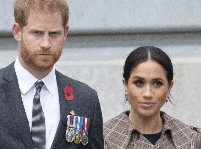 Meghan Markle et le prince Harry - cover