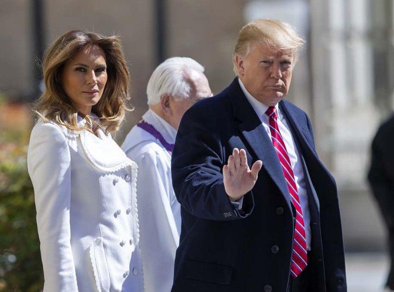 Melania Trump et Donald Trump au bord de la rupture ? Cette fois ils se disputent devant tout le monde...