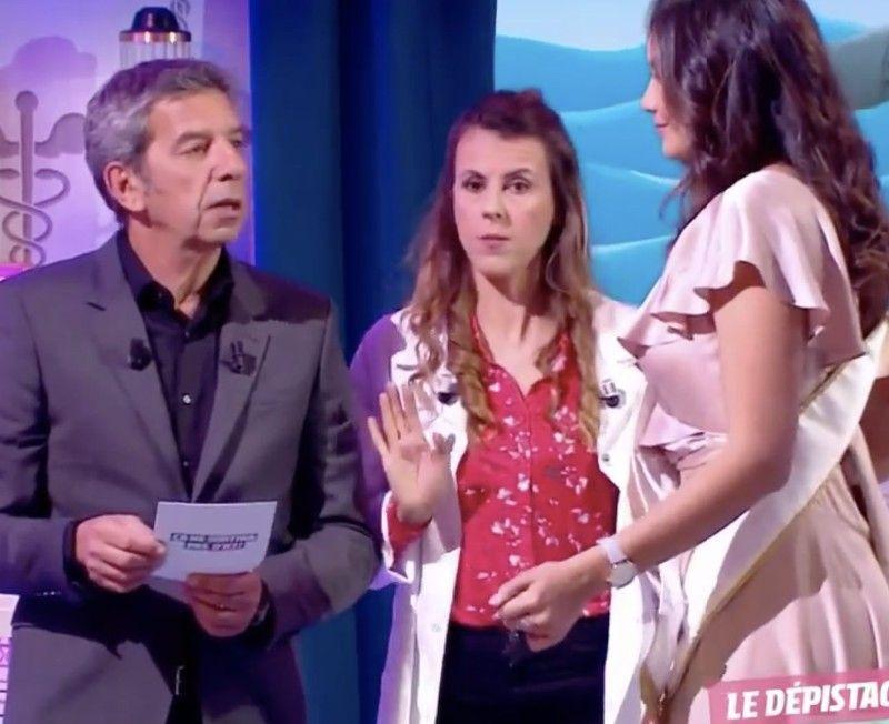 Michel Cymes se fait recadrer par Miss France... et il ne s'y attendait pas !