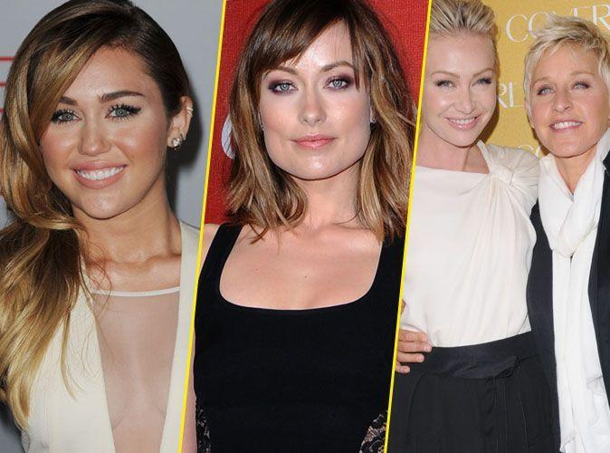 Miley Cyrus Olivia Wilde Ellen Degeneres Et Une Victoire De Plus En Faveur Du Mariage Gay