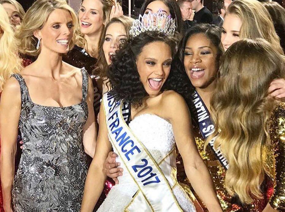 Miss france 2017 est miss guyane - Miss france 2017 interview ...