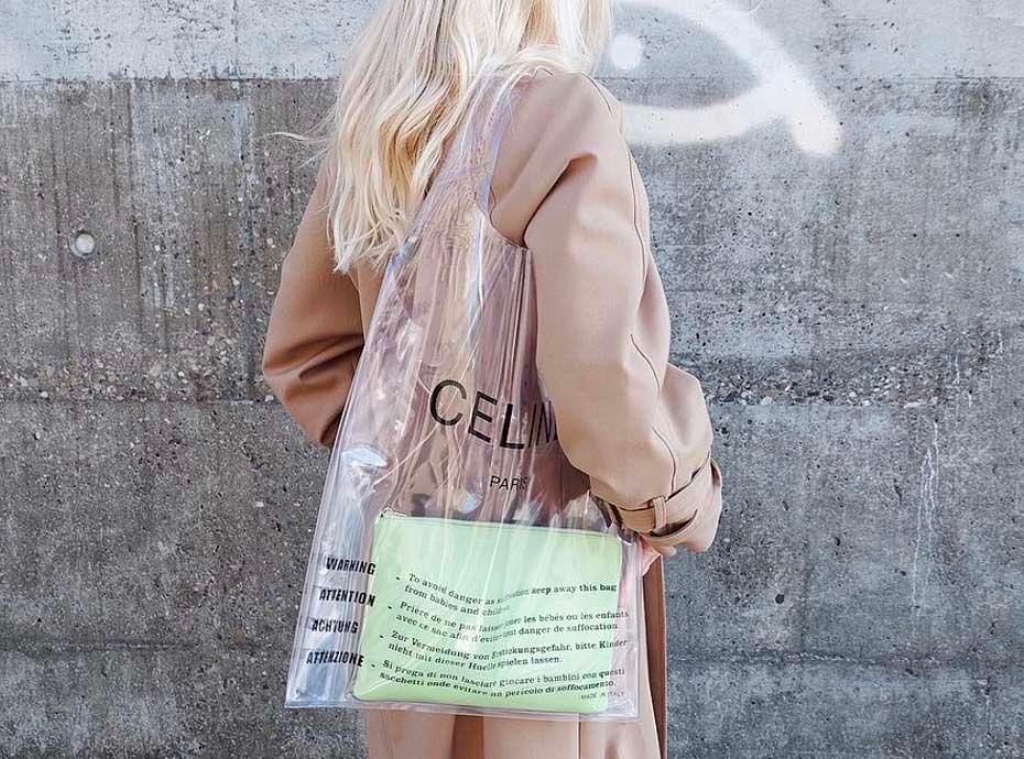 Céline Ce Plastique Sac 480 Les À Girls S'arrachent It Désormais Mode En XHawzq8
