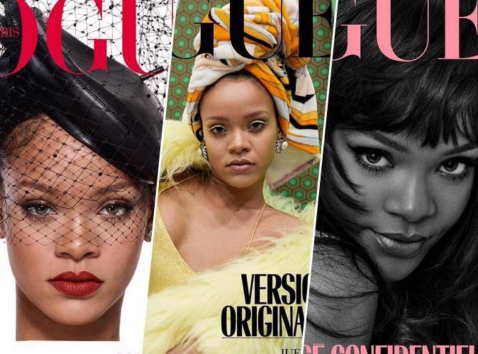 Mode : Quand Rihanna s'offre trois couvertures de Vogue Paris
