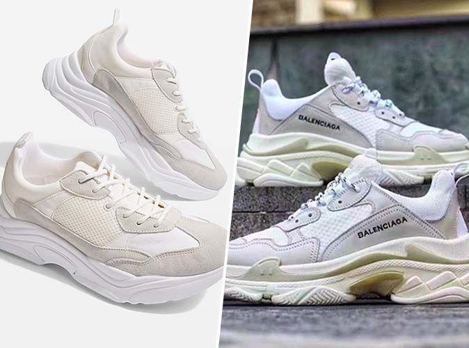 Uomo Balenciaga Sneakers Triple S 9000 WHiTE