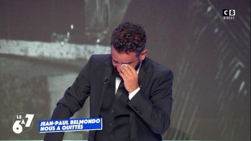 Cyril Hanouna craque et fond en larmes en direct dans TPMP