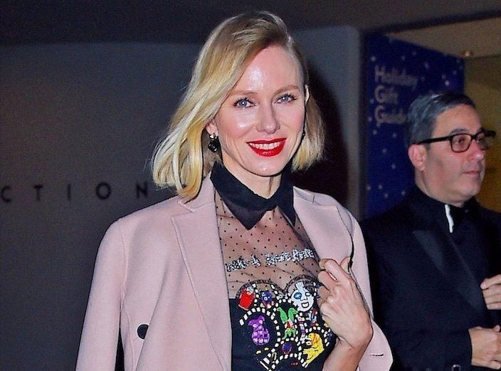 Naomi Watts : Elle rend un hommage touchant à Heath Ledger