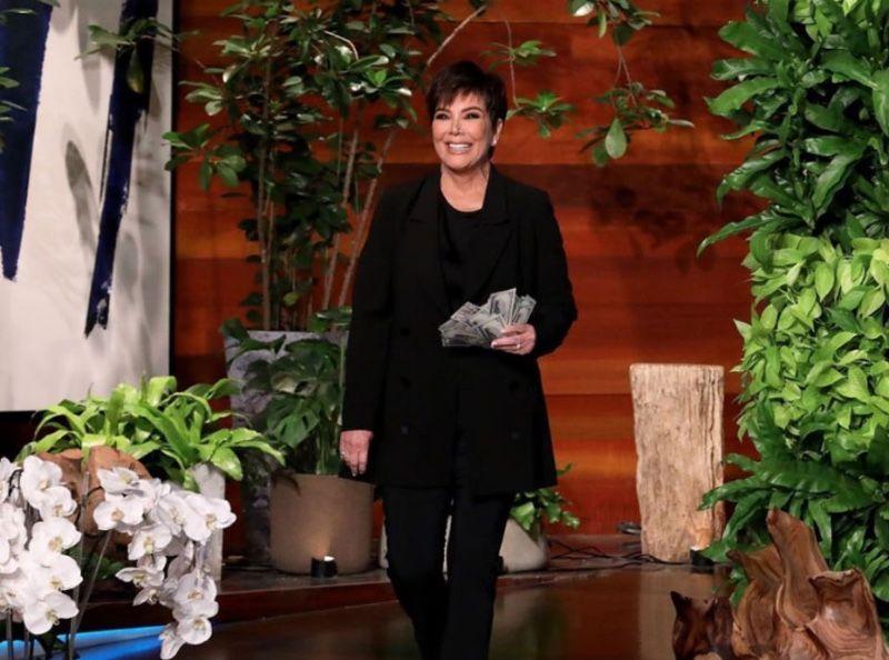 Nouveau bébé chez les Kardashian... Kris Jenner avoue et craque chez Ellen DeGeneres !