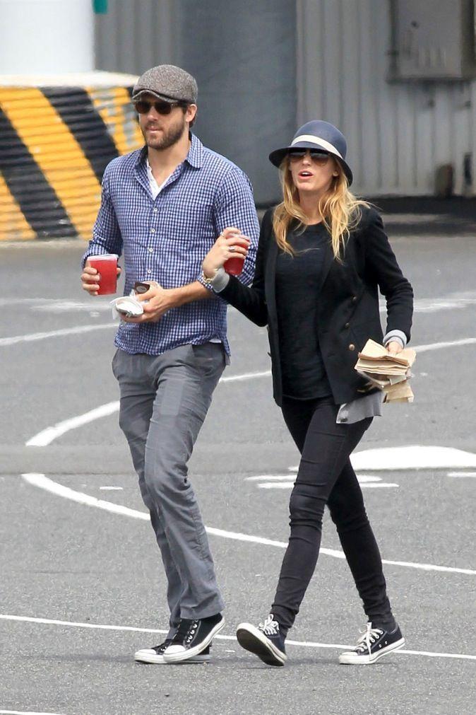 Photos Blake Lively Ryan Reynolds Mariés Retour Sur Leur Belle