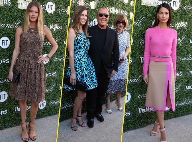 Photos : Doutzen Kroes, Lily Aldrigde, Hilary Swank ...