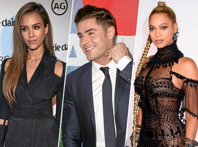 Photos : Jessica Alba, Zac Efron, Beyonce... les premiers baisers des stars !