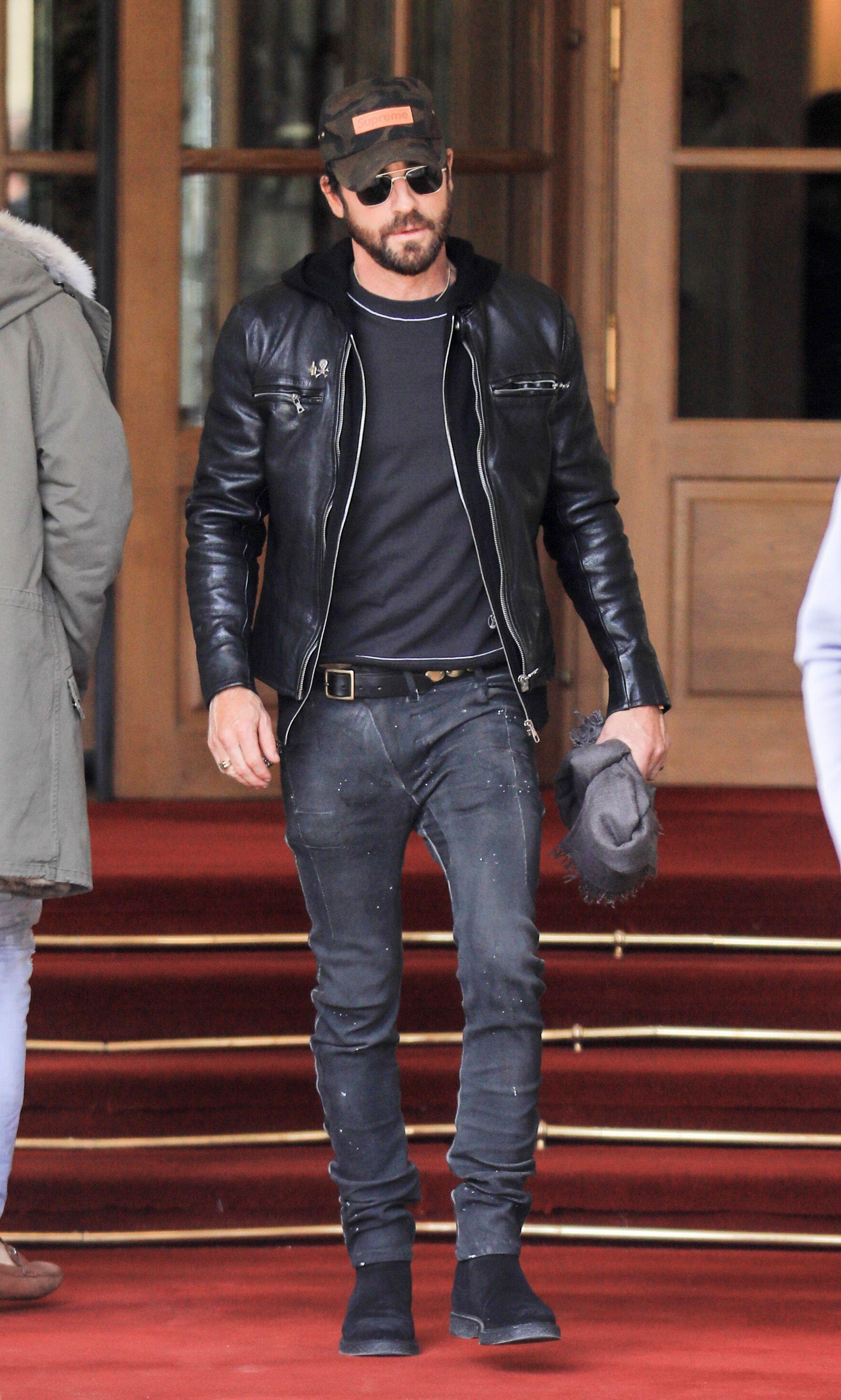 Justin Theroux : L'ex de Jennifer Aniston s'offre une virée en solo à Paris !