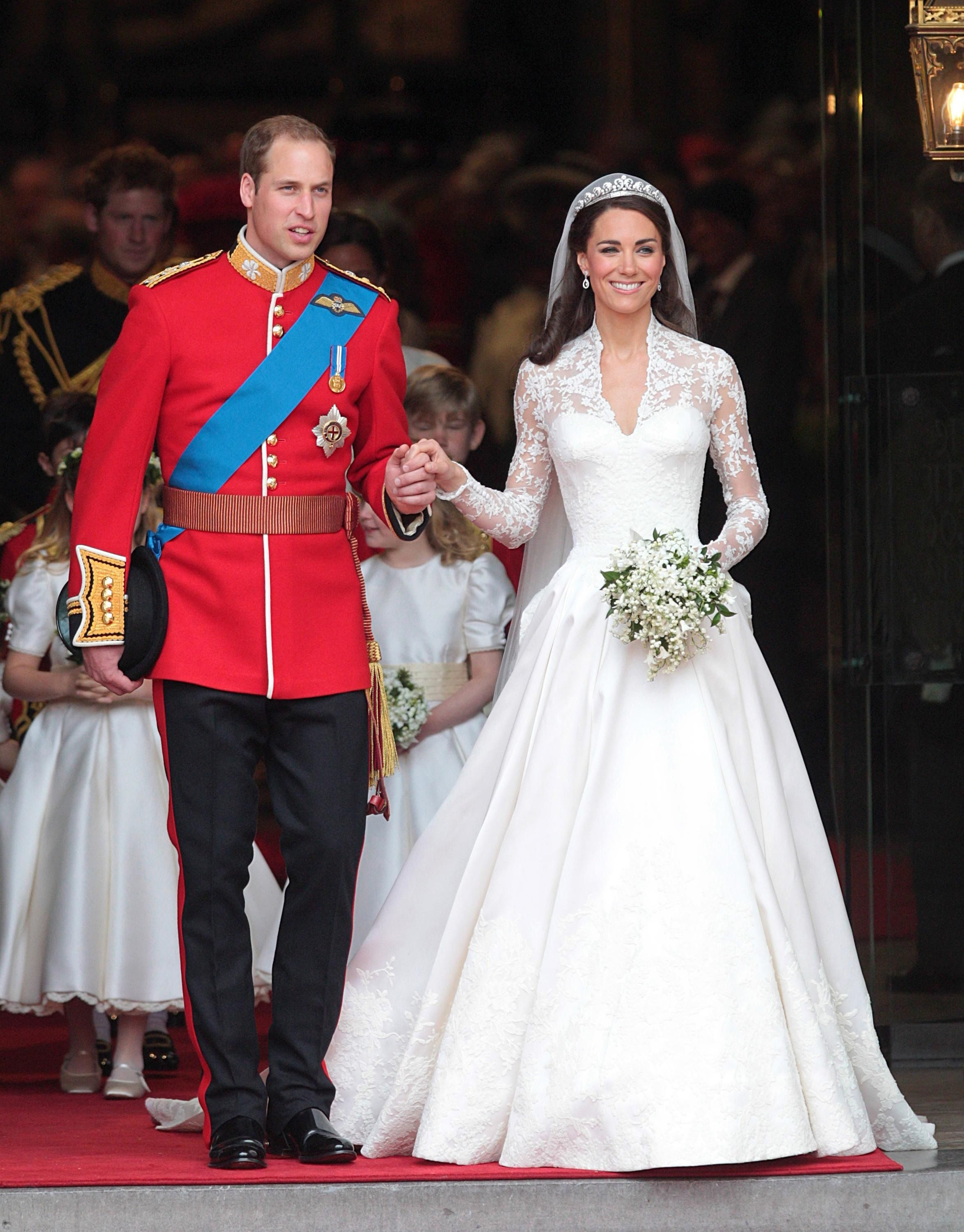 Photos  Kate Middleton et le Prince William fêtent leur 6 ans de mariage !